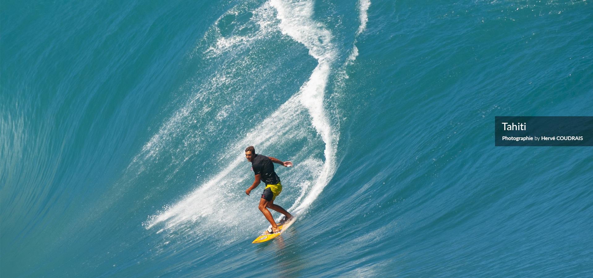 Tahiti (photographie Hervé Coudrais, Teahupoo, surf, vagues, Tahiti, Polynésie, Polynésie française, fenua...)